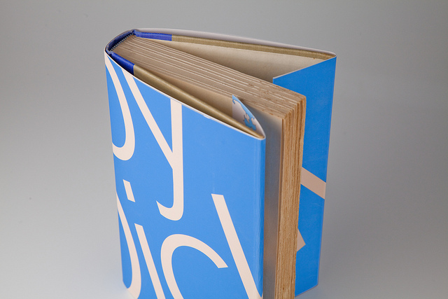 Redesign the dust jacket of your favorite book